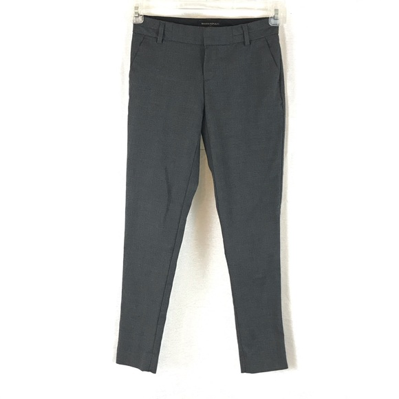 Banana Republic Pants - BANANA REPUBLIC Gray Martin Fit Skinny Pants 00P